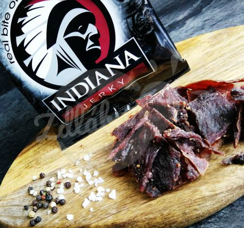 Indiana Jerky PEPPERED 25g - hovězí