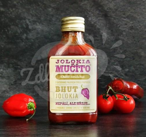 Chilli omáčka Mučíto Jolokia