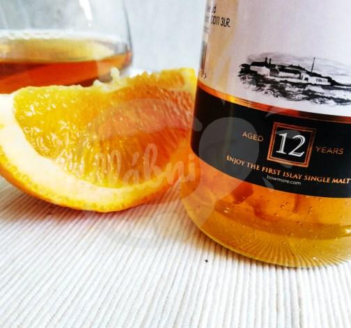 Pomerančová zavařenina s příměsí 12 lete whisky Bowmore 340g