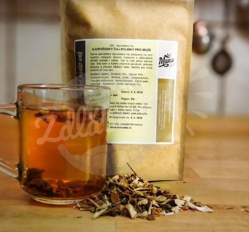 Ajurvédský čaj bylinky pro muže 50g - manutea