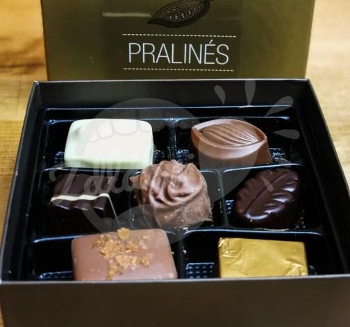 Luxusní belgické pralinky 95g - art of chocolate