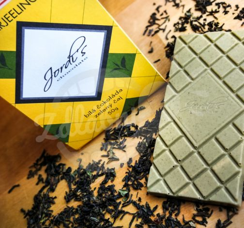 Čokoláda Tea Darjeeling 50g - Jordi's