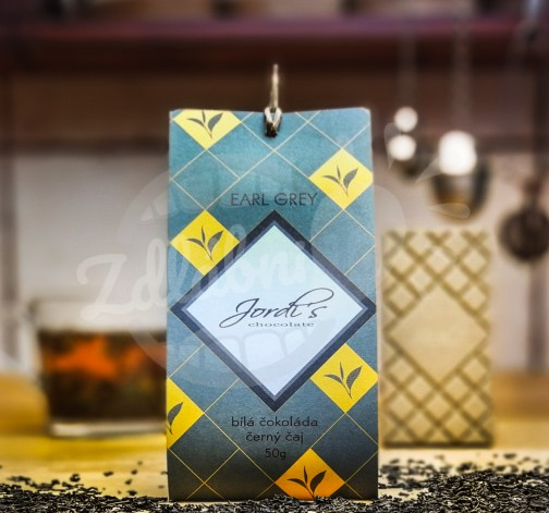 Čokoláda Tea Earl Grey 50g