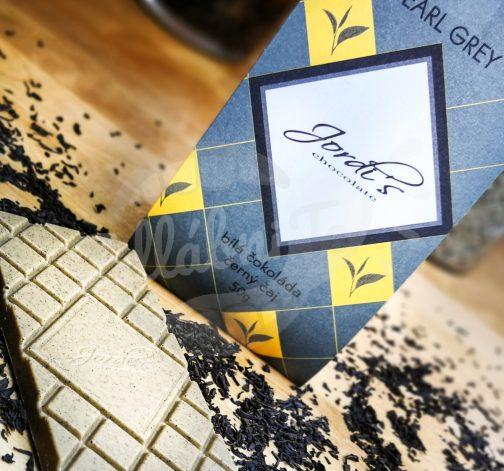 Čokoláda Tea Earl Grey 50g - Jordi's