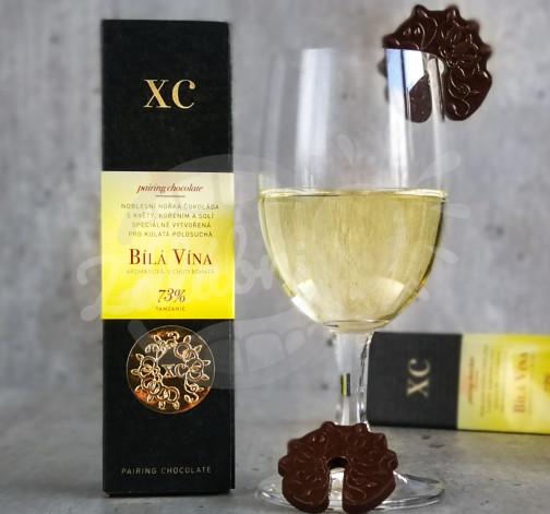 Noblesní čokoláda k bílým vínům Tanzanie 73%