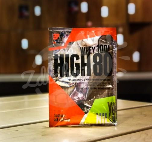 High Whey 80 30g vanilla, Extrifit