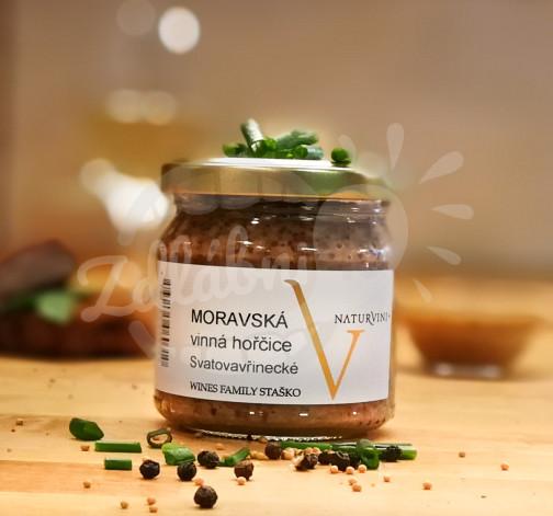 Moravská vinná hořčice 180g