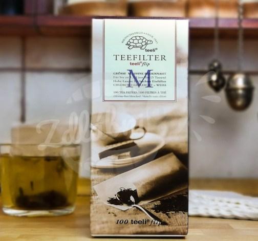 Papírové filtry pro přípravu čaje M 100ks