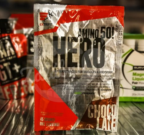 Hero 45g chocolate - Extrifit