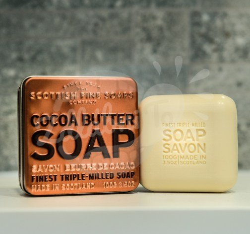 Mýdlo v plechu - Kakaové máslo 100g