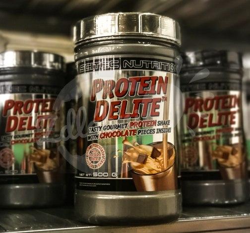 Protein Delite 500g alpine milk chocolate, Scitec Nutrition