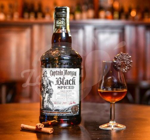 Captain Morgan Black Spiced 40% 0,7l