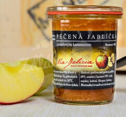 Pečená jablíčka s máslovým karamelem 160g