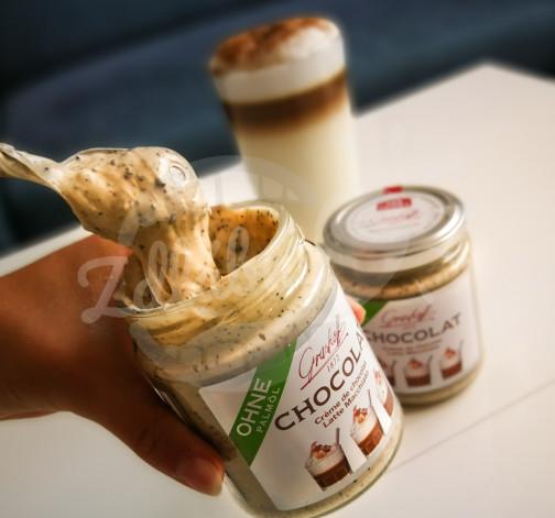 Bílý čokoládový krém Latte Macchiato 250g - Grashoff