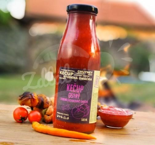 Kečup ostrý domácí