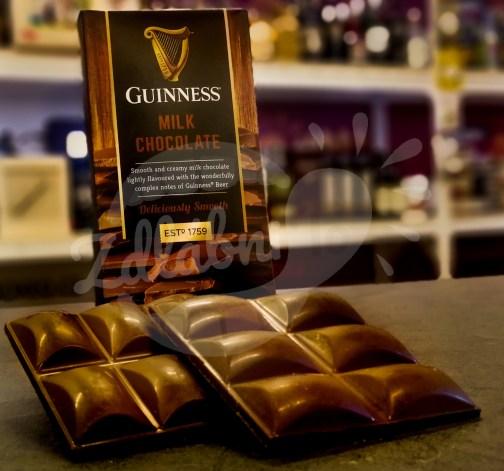 Mléčná čokoláda Guinness