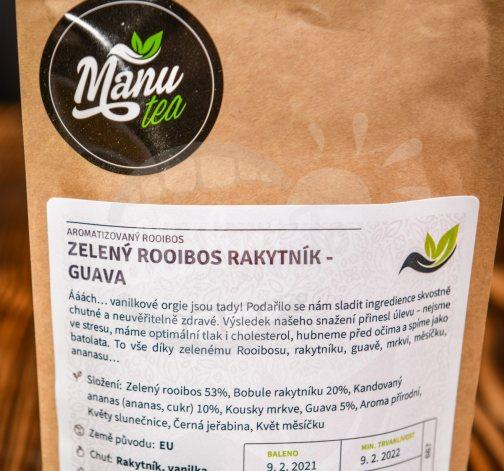 Zelený Rooibos Rakytník - Guava 50g