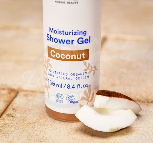 Vyživující BIO kokosový sprchový gel Urtekram 250 ml