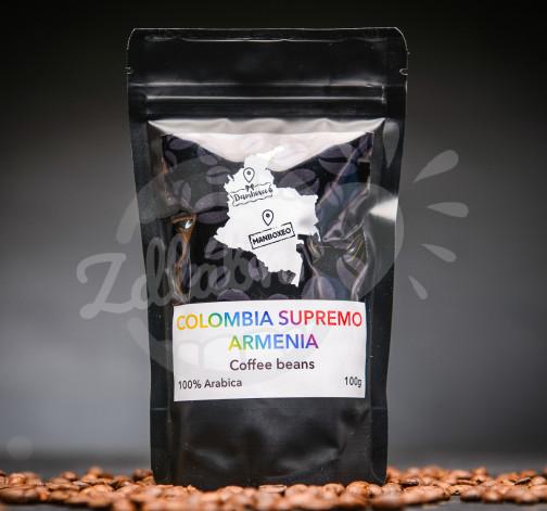 Káva Colombia Supremo Armenia 100g - 100% Arabica.jpg