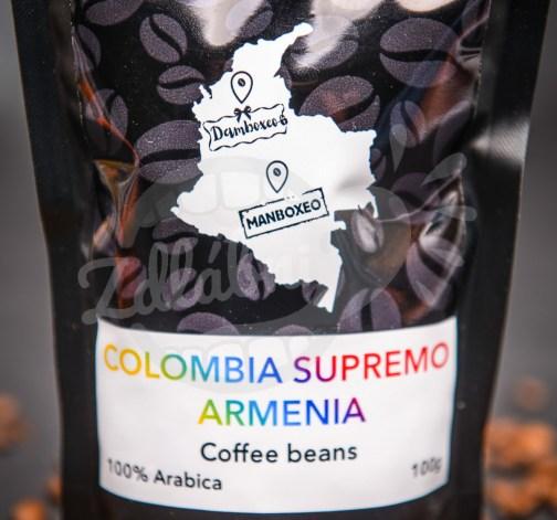 Káva Colombia Supremo Armenia 100g.jpg