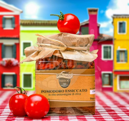 Pomodoro Essiccato - sušená rajčata v oleji 280g