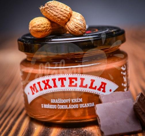 Mixit Mixitella arasidovy krem s horkou cokoladou s Ugandy.jpg