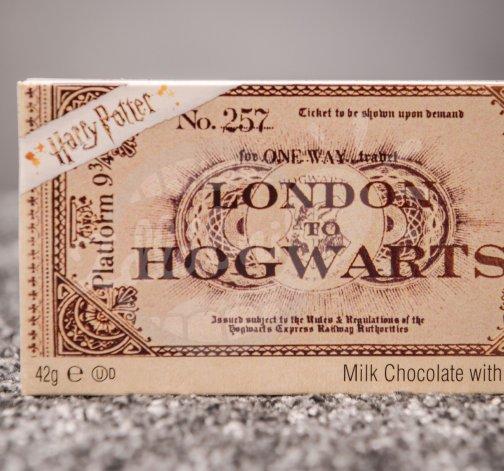 Čokoládová jízdenka do Bradavic