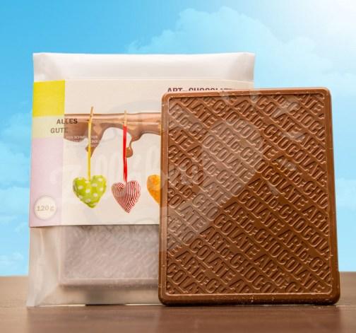 Art of Chocolate Čokoládová tabule Alles Gute 120g