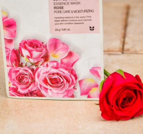 Plátýnková maska s růží pro zklidnění a hydrataci 23 g