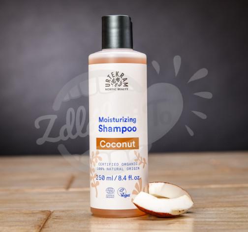 Hydratační BIO kokosový šampon Urtekram 250 ml