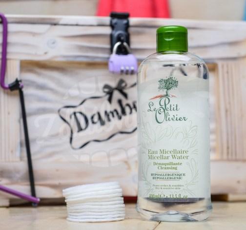 Le Petit Olivier - čistící micelární voda - olivový olej 400ml