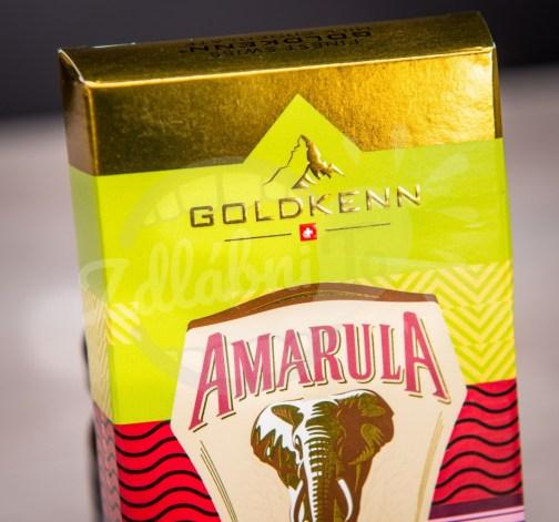 Luxusní čokoláda Goldkenn s náplní likéru Amarula 100g