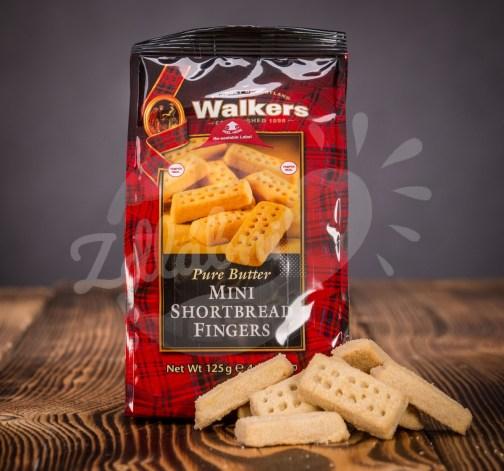 Walkers máslové sušenky 125g