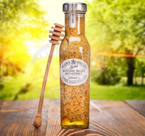 W&S Sauce Mustard with Honey 260ml