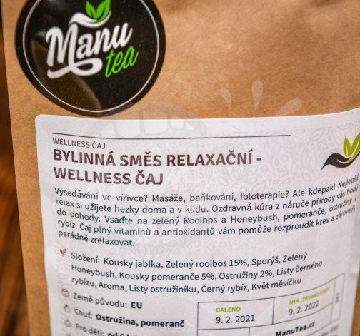 Bylinná směs Relaxační - wellness čaj 50g