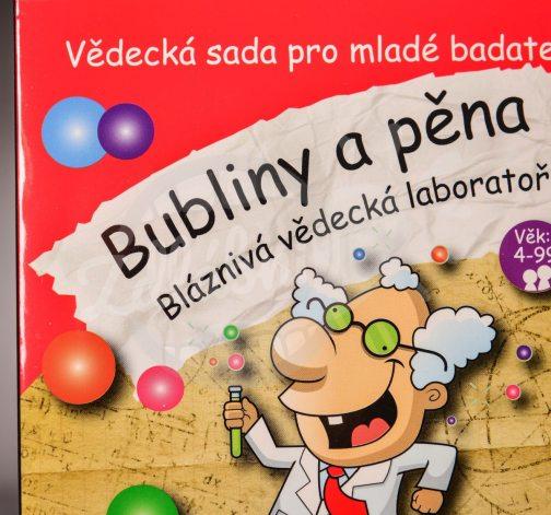 Bláznivá vědecká laboratoř – Bubliny a pěna