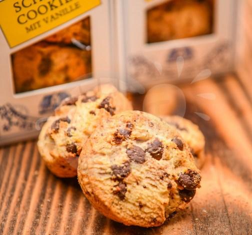 Cokoladove cookies s vanilkou Michelsen Schoko Cookies mit Vanille 50g.jpg