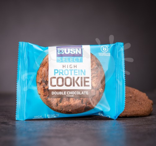 USN Select High Protein Cookie – double chocolate 60 g