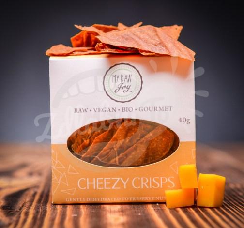 sýrové krekry Cheezy Crisps 40 g