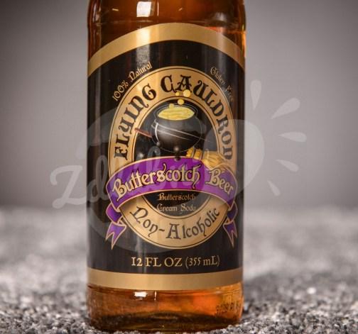 Nealkoholický máslový ležák Harry Potter Flying Cauldron 355 ml