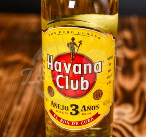 Havana Club rum 3yo 40% 0,7l