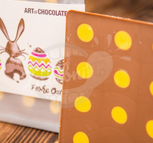 Art of Chocolate Čokoládová tabule Frohe Ostern 120 g