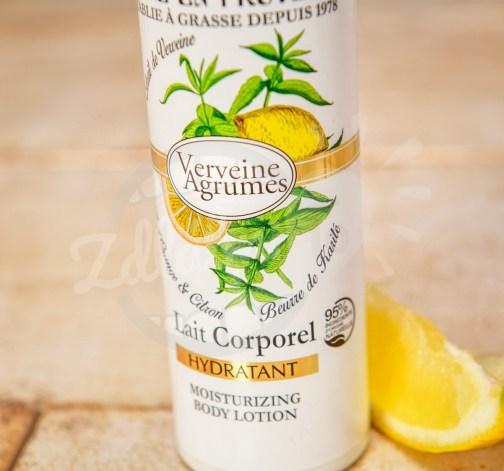 Jemné tělové mléko Jeanne en Provence s extraktem z verbeny a citronu 250 ml