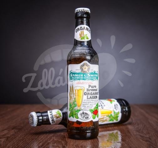 Samuel Smith Organic Lager 0,355 l sklo