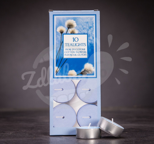 Aladino čajové svíčky 10ks - Květ bavlníku