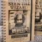 Zapísník Harry Potter s 3D deskami