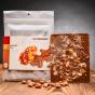 Art of Chocolate Čokoládová tabule s pečenými mandlemi 120g - Gebrtannte Mandel