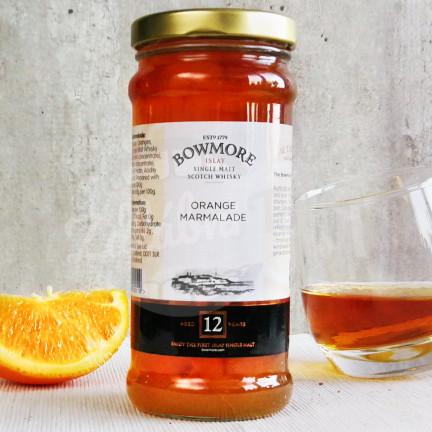 Pomerančová zavařenina s příměsí 12 leté whisky Bowmore