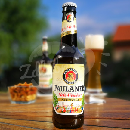 Paulaner Hefe Weissbier NĚMECKO