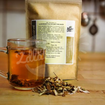 Ajurvédský čaj bylinky pro muže